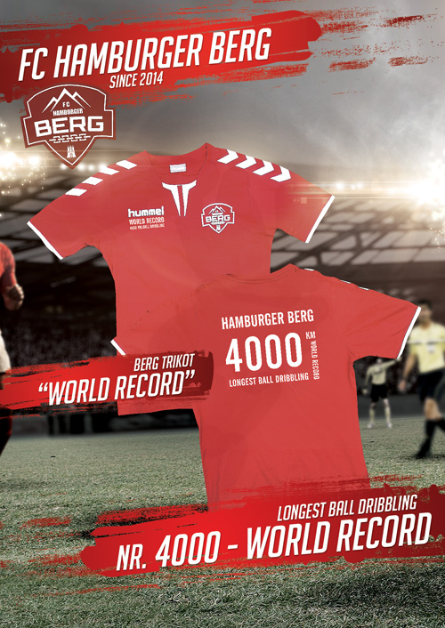 4000 KM World Record Trikot